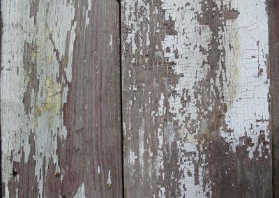 Chippy White Barn Siding