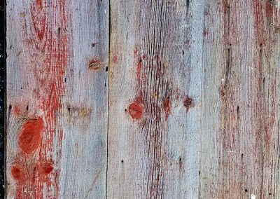 Faded Red Barn Siding