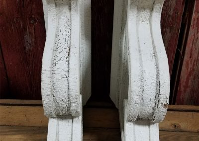 Vintage Corbels from inventory of unique items coming from barns and historic buildings