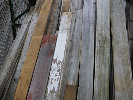 Reclaimed Barn Siding / Reclaimed Interior Boards